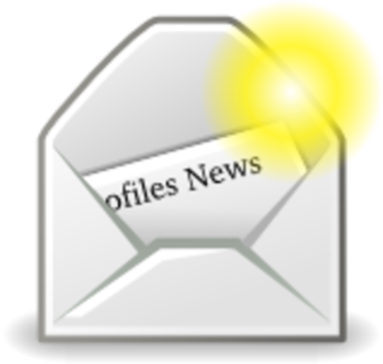 Profiles News envelope